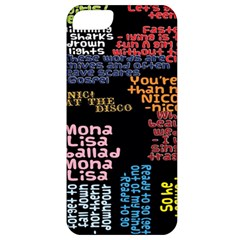 Panic At The Disco Northern Downpour Lyrics Metrolyrics Apple Iphone 5 Classic Hardshell Case by Samandel