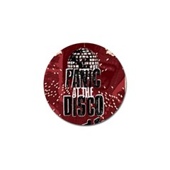 Panic At The Disco Poster Golf Ball Marker by Samandel
