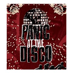 Panic At The Disco Poster Shower Curtain 66  X 72  (large)  by Samandel