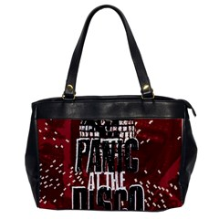 Panic At The Disco Poster Office Handbags