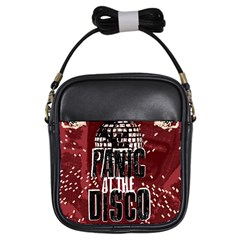 Panic At The Disco Poster Girls Sling Bags by Samandel