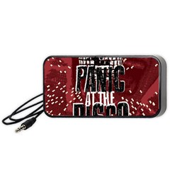 Panic At The Disco Poster Portable Speaker by Samandel