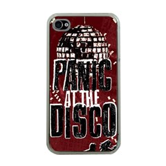 Panic At The Disco Poster Apple Iphone 4 Case (clear) by Samandel