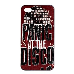 Panic At The Disco Poster Apple Iphone 4/4s Seamless Case (black) by Samandel