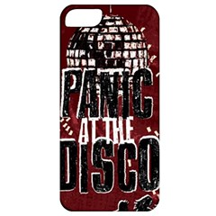 Panic At The Disco Poster Apple Iphone 5 Classic Hardshell Case by Samandel