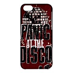 Panic At The Disco Poster Apple Iphone 5c Hardshell Case by Samandel