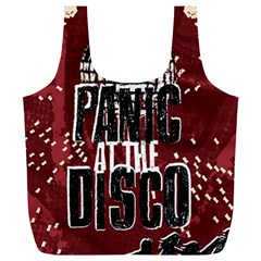 Panic At The Disco Poster Full Print Recycle Bags (l)  by Samandel