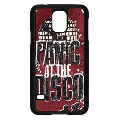 Panic At The Disco Poster Samsung Galaxy S5 Case (black) by Samandel