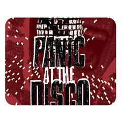 Panic At The Disco Poster Double Sided Flano Blanket (large)  by Samandel