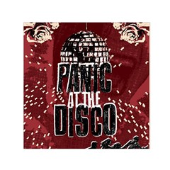 Panic At The Disco Poster Small Satin Scarf (square) by Samandel