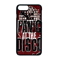 Panic At The Disco Poster Apple Iphone 7 Plus Seamless Case (black) by Samandel