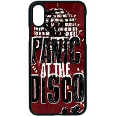 Panic At The Disco Poster Apple Iphone X Seamless Case (black)