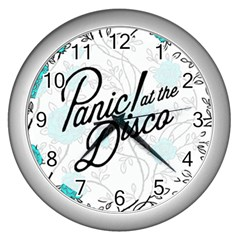 Panic At The Disco Quote Wall Clocks (silver)  by Samandel