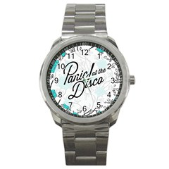 Panic At The Disco Quote Sport Metal Watch