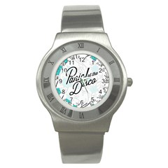 Panic At The Disco Quote Stainless Steel Watch by Samandel