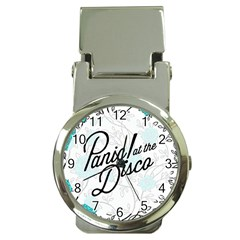 Panic At The Disco Quote Money Clip Watches by Samandel