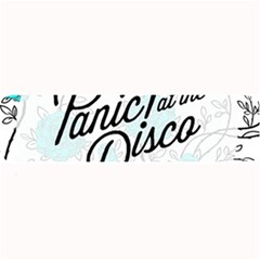 Panic At The Disco Quote Large Bar Mats by Samandel