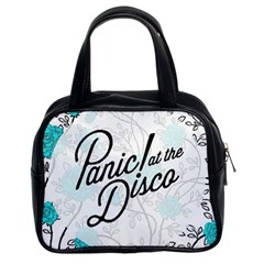 Panic At The Disco Quote Classic Handbags (2 Sides) by Samandel