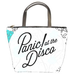 Panic At The Disco Quote Bucket Bags by Samandel