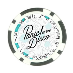 Panic At The Disco Quote Poker Chip Card Guard (10 Pack)