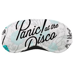 Panic At The Disco Quote Sleeping Masks by Samandel