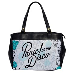 Panic At The Disco Quote Office Handbags by Samandel