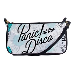 Panic At The Disco Quote Shoulder Clutch Bags by Samandel