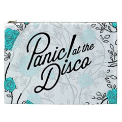 Panic At The Disco Quote Cosmetic Bag (xxl)  by Samandel