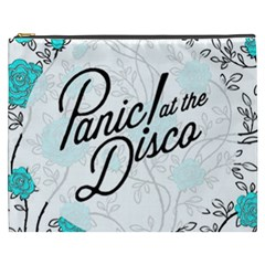 Panic At The Disco Quote Cosmetic Bag (xxxl)  by Samandel