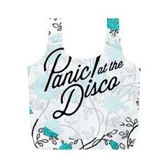 Panic At The Disco Quote Full Print Recycle Bags (m)  by Samandel