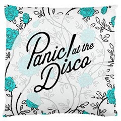 Panic At The Disco Quote Large Flano Cushion Case (one Side) by Samandel