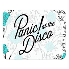 Panic At The Disco Quote Double Sided Flano Blanket (large)  by Samandel