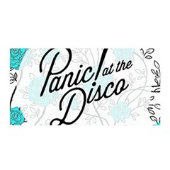 Panic At The Disco Quote Satin Wrap by Samandel