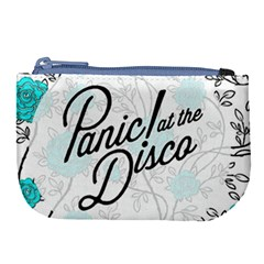 Panic At The Disco Quote Large Coin Purse by Samandel