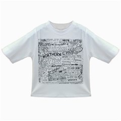 Panic At The Disco Lyrics Infant/toddler T Shirts by Samandel
