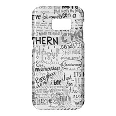 Panic At The Disco Lyrics Samsung Galaxy S7 Hardshell Case