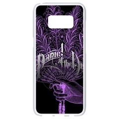Panic At The Disco Samsung Galaxy S8 White Seamless Case by Samandel