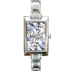 Panic! At The Disco Rectangle Italian Charm Watch