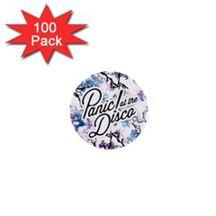 Panic! At The Disco 1  Mini Buttons (100 Pack)  by Samandel