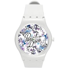 Panic! At The Disco Round Plastic Sport Watch (m) by Samandel