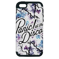 Panic! At The Disco Apple Iphone 5 Hardshell Case (pc+silicone) by Samandel