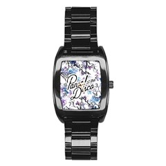 Panic! At The Disco Stainless Steel Barrel Watch by Samandel