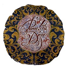 Panic! At The Disco Large 18  Premium Round Cushions by Samandel
