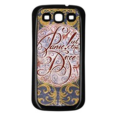 Panic! At The Disco Samsung Galaxy S3 Back Case (black) by Samandel