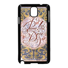 Panic! At The Disco Samsung Galaxy Note 3 Neo Hardshell Case (black) by Samandel