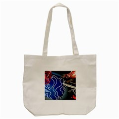 Panic! At The Disco Released Death Of A Bachelor Tote Bag (cream) by Samandel