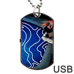 Panic! At The Disco Released Death Of A Bachelor Dog Tag Usb Flash (one Side) by Samandel