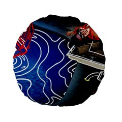 Panic! At The Disco Released Death Of A Bachelor Standard 15  Premium Flano Round Cushions by Samandel