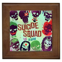 Panic! At The Disco Suicide Squad The Album Framed Tiles by Samandel