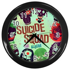 Panic! At The Disco Suicide Squad The Album Wall Clocks (black) by Samandel